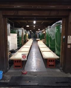 #二三一 #国稀 日本最北端の酒蔵、国稀酒造。 大吟醸用のお米、仕込中。