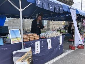 増毛町春の味祭り。 始まりです(^^) #二三一#海鮮#酒蔵#バッテラ