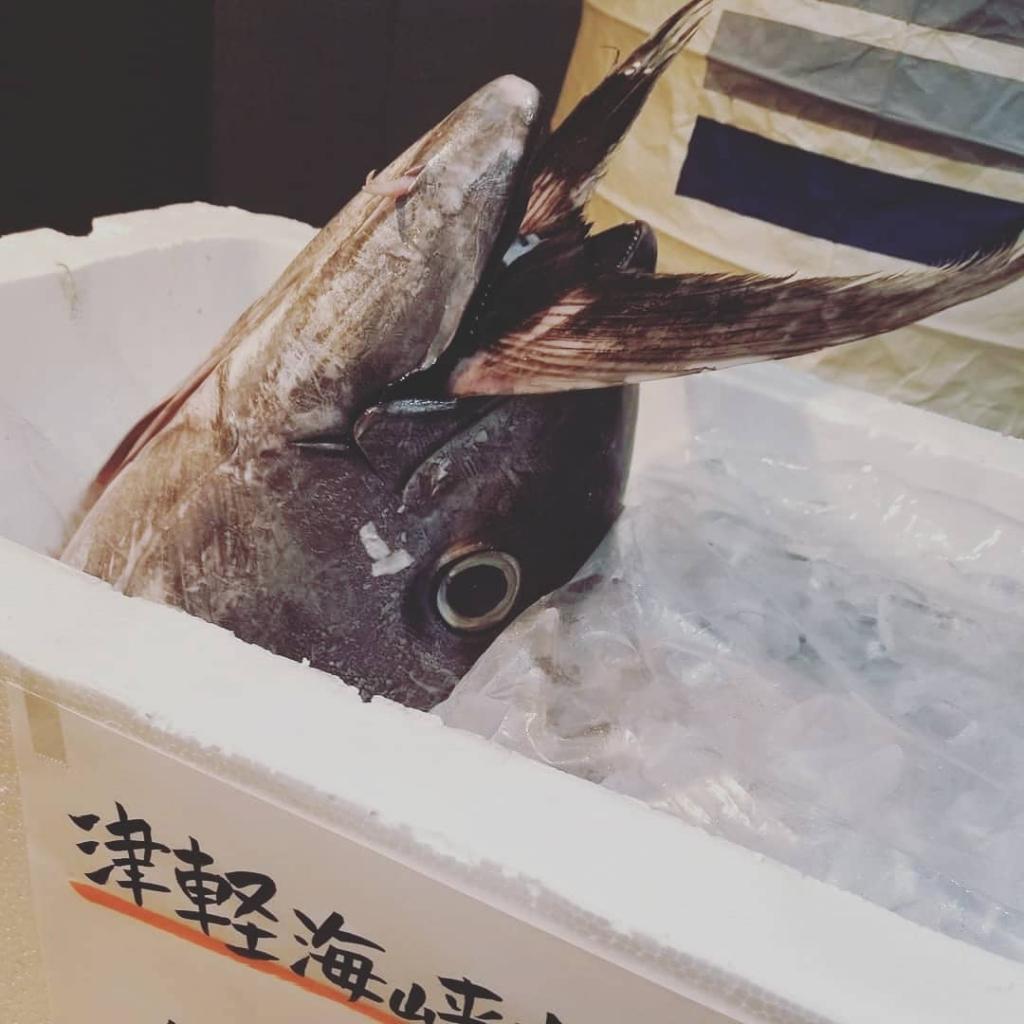 まぐろ🐟まぐろ🐟まぐろ . 津軽海峡産 生本マグロ . 丸々一本仕入れました🙋💓. . ランチは、 .... - 3