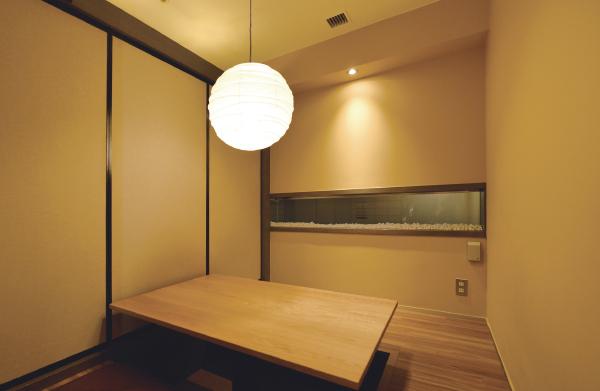 個室テーブル